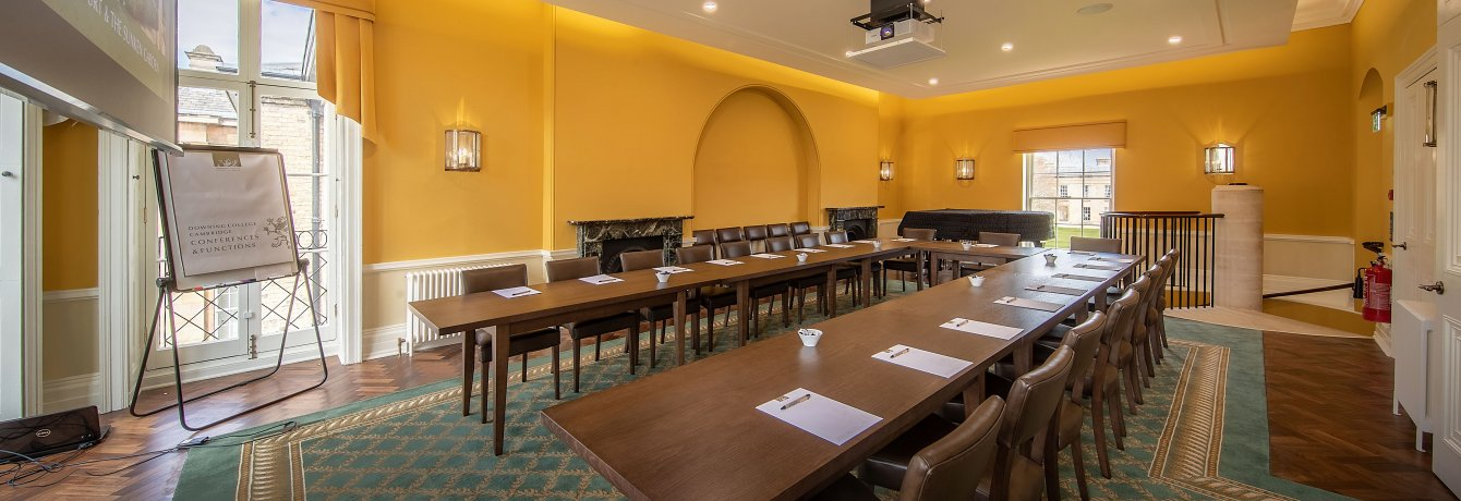 Music and Tim Cadbury Room at Downing College Hospitality and Events