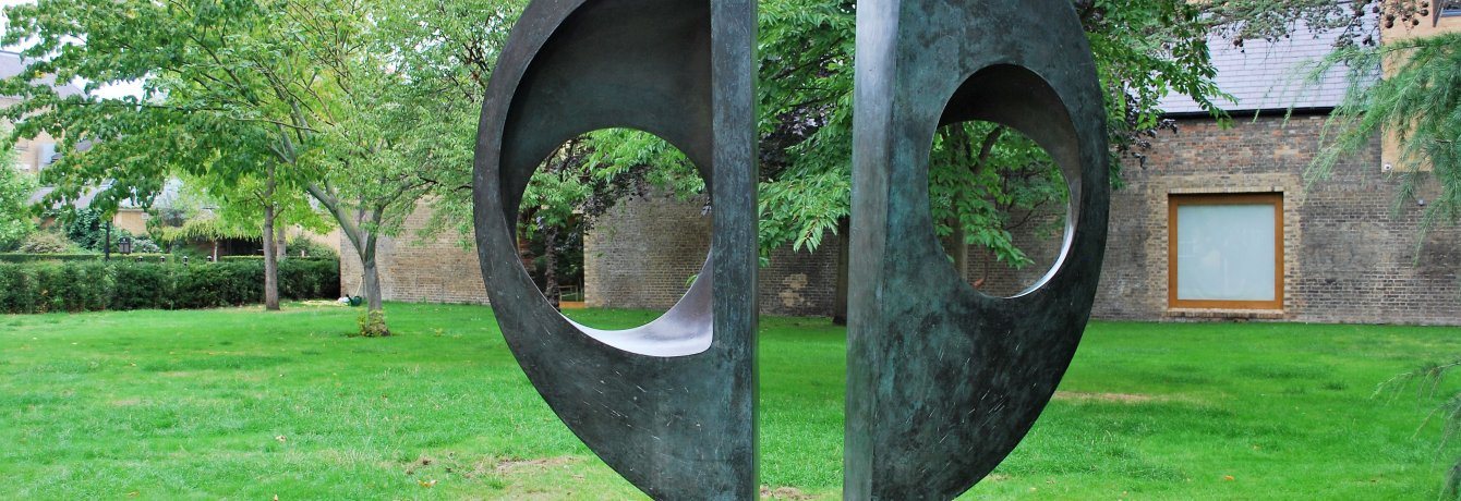Two Forms by Barbara Hepworth