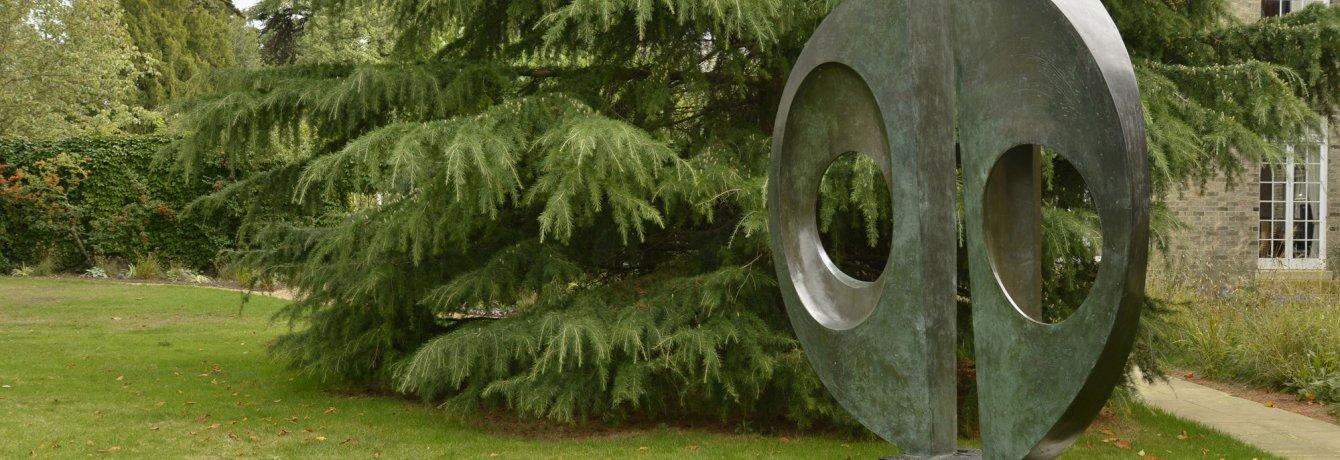Barbara Hepworth Divided Circle