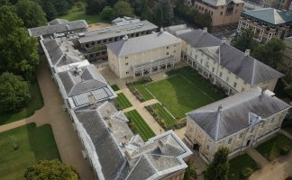 Downing College Cambridge Aerial View