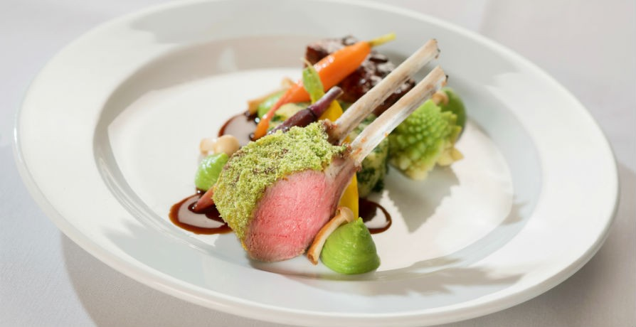 Rack of Lamb on the Gala Menu